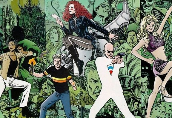 Grant Morrison The Invisibles comic, credit: Comics Alliance