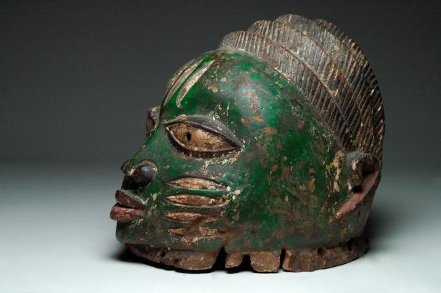 Gelede Helmet Mask