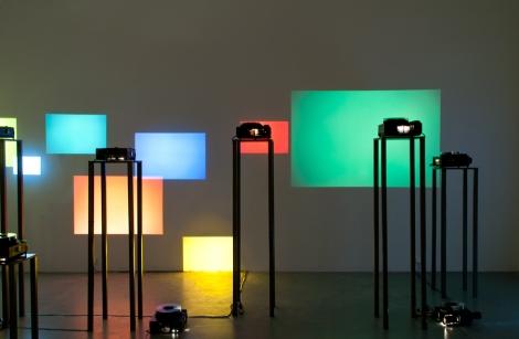 In memory, 2013, installation - slides, projectors (D)
