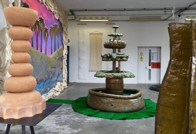 Installation view, BA Sculpture, Camberwell Undergraduate Summer show 2016