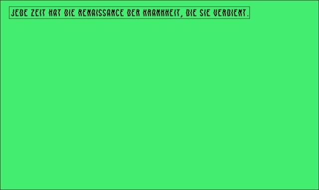 quarto testo verde
